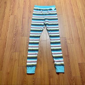 BP striped thermal pajamas size small